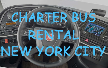 Comfort Express Inc Charter Bus in New York City