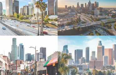 Rent Bus Charters for your trip to Los Angeles