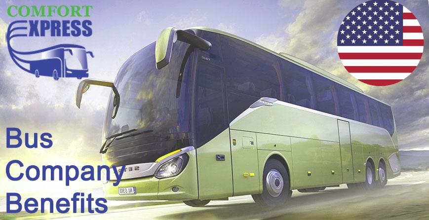Bus Company Benefits