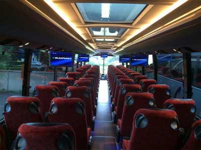 Charter Bus Rent 72