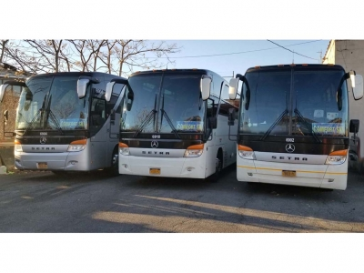 Charter Bus Rent 86