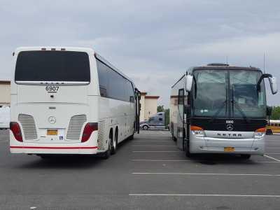 Charter Bus Rent 83