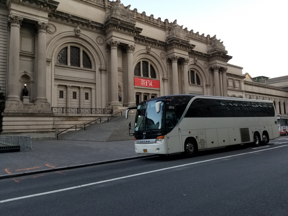 comfortable bus trips