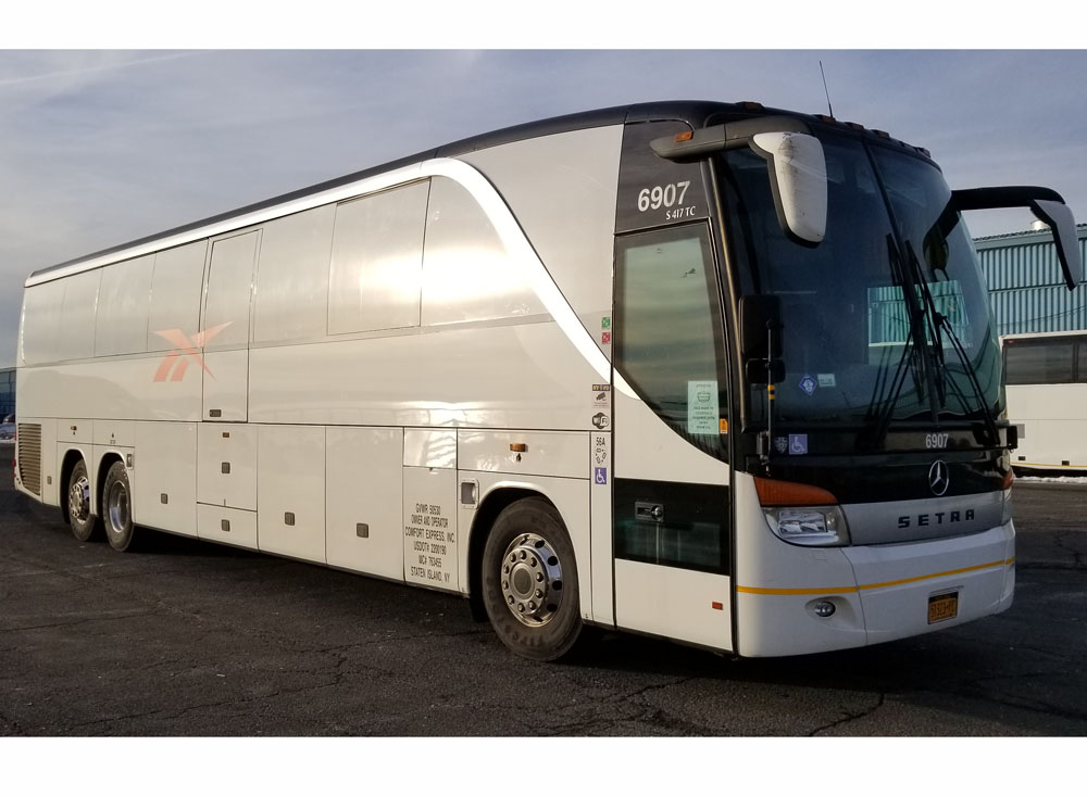 Comfort Express bus rental