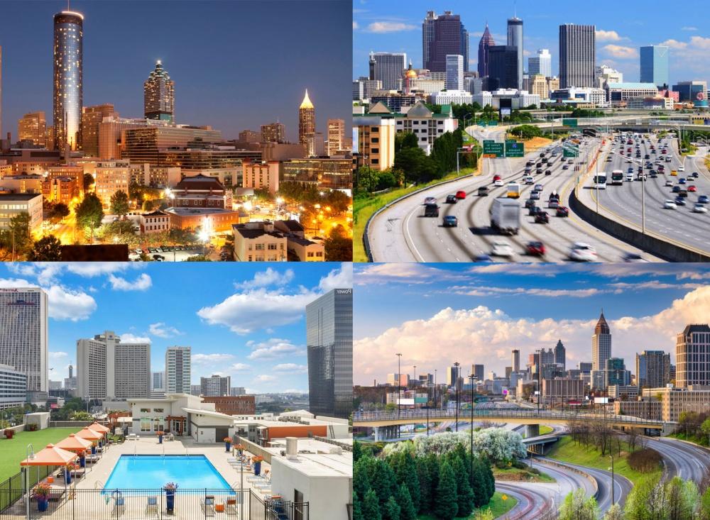 Atlanta usa bus rent