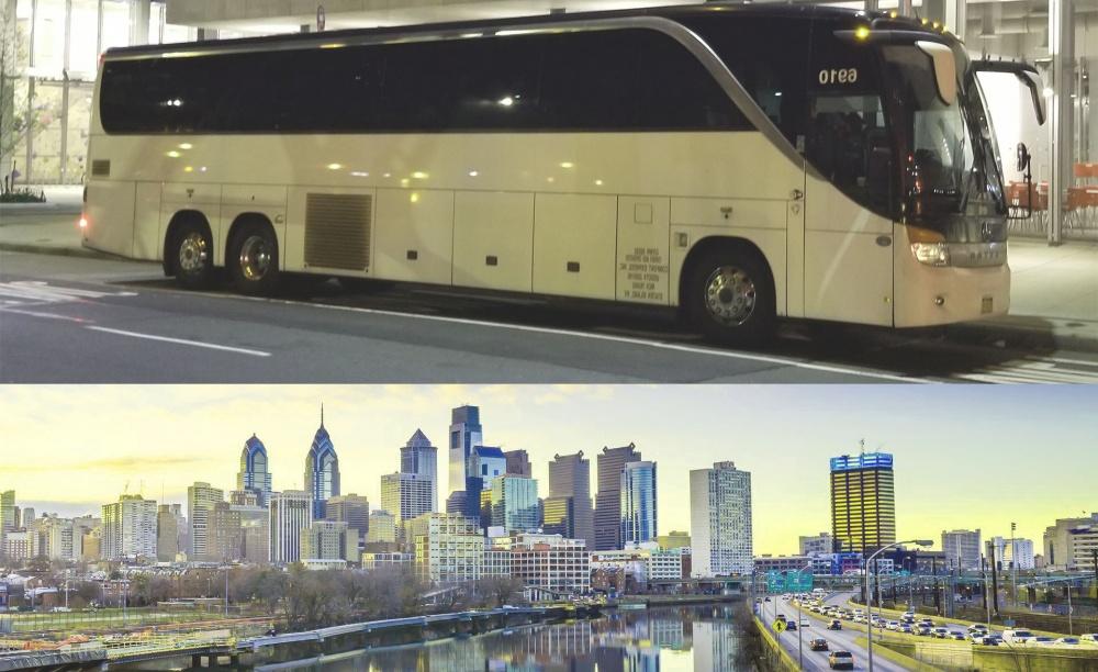 charter bus to pennsylvania usa