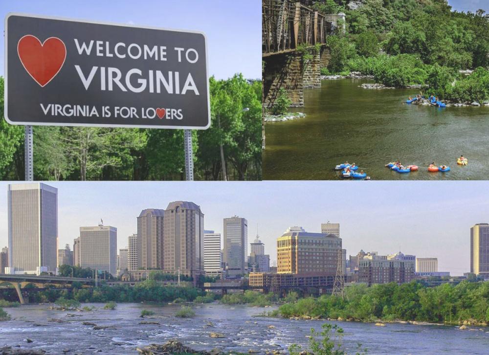 bus trip to Virginia