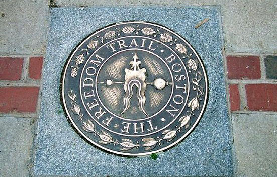 Walk the Iconic Freedom Trail
