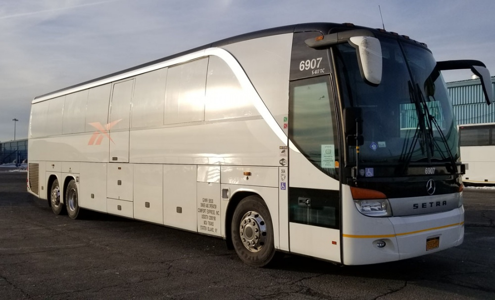 Charter bus tip