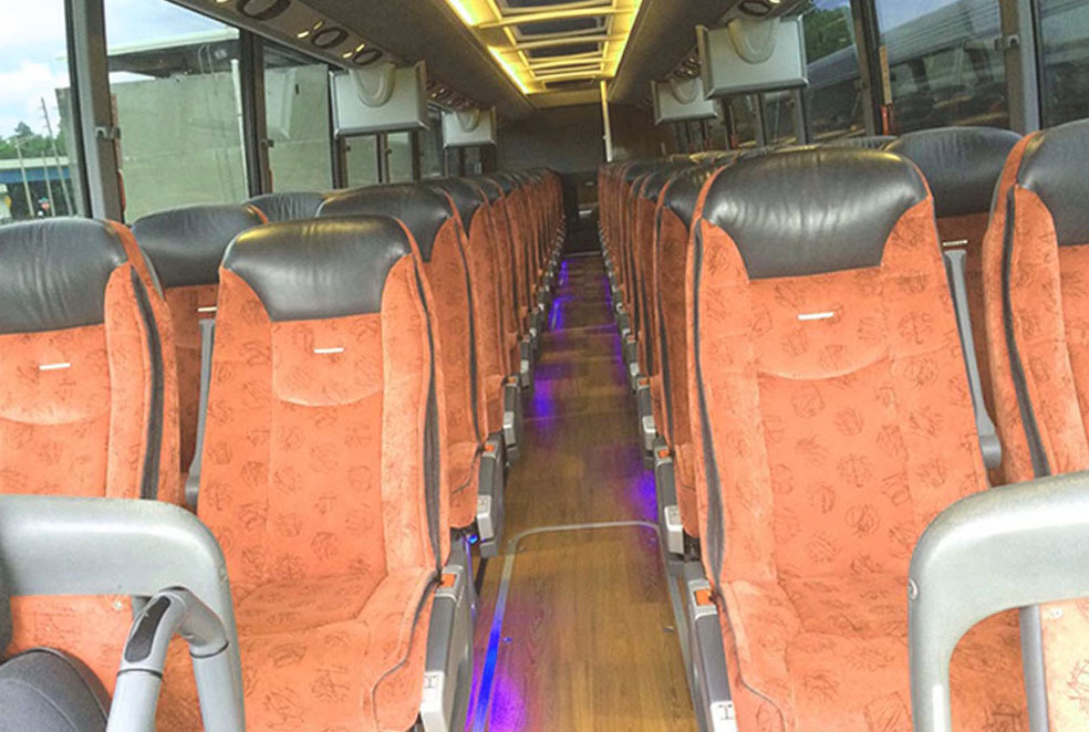 stress-free bus rental trips