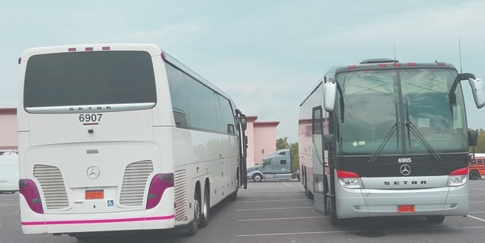 Bus transportation for Sporting Events