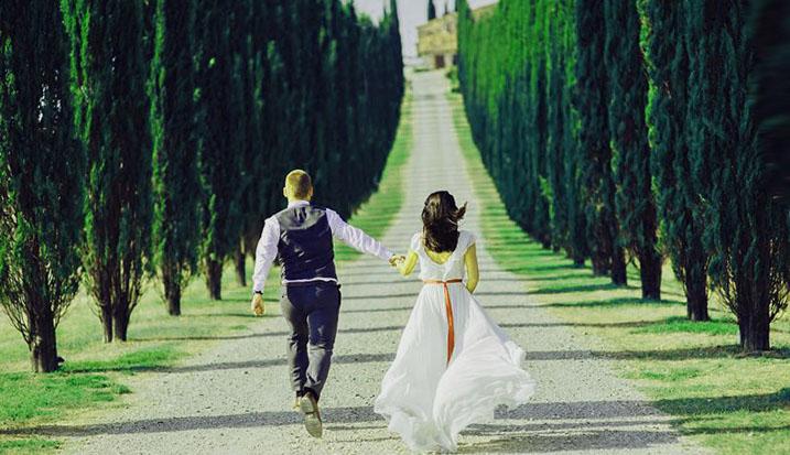 wedding trip